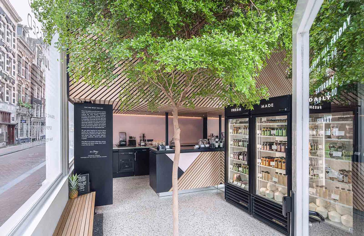The Cold Pressed Juicery - The nine streets Amsterdam